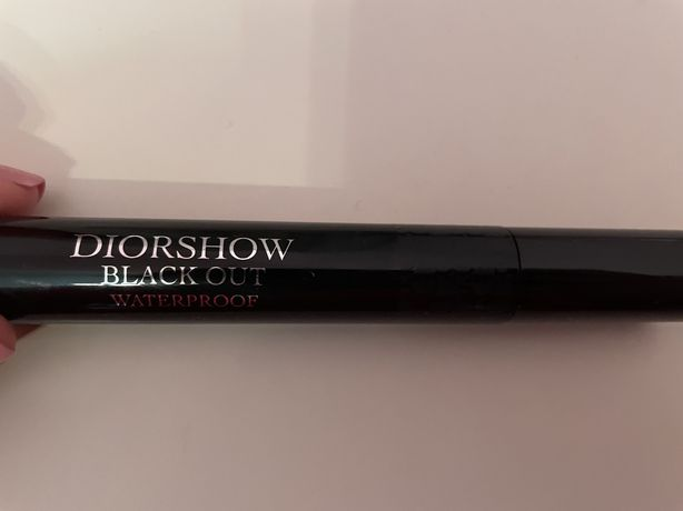 Туш Dior чорна водостійка Нова оригінал