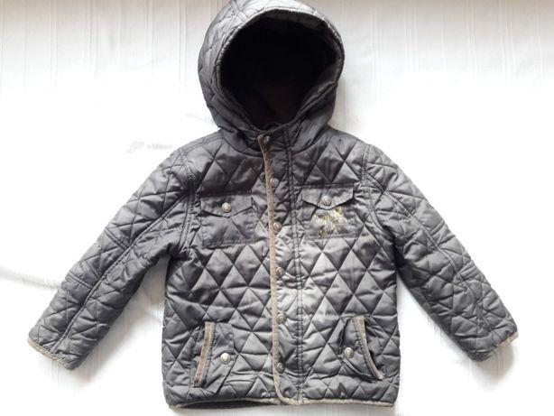 Куртка демисезонная зеленая стеганая F&F 4-5 лет