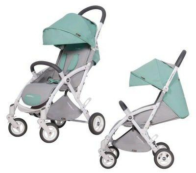 NOWY! Wózek spacerowy EasyGo MinimaPlus Basil + GRATIS ORGANIZER