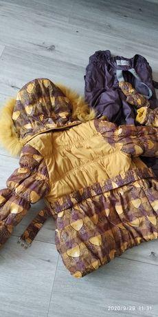 Зимний комплект, комбинезон, куртка
