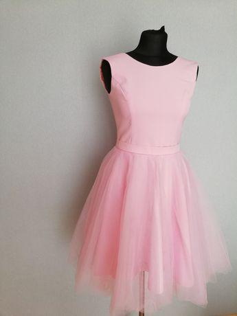 Sukienka 2w1 princesska/rozkloszowana