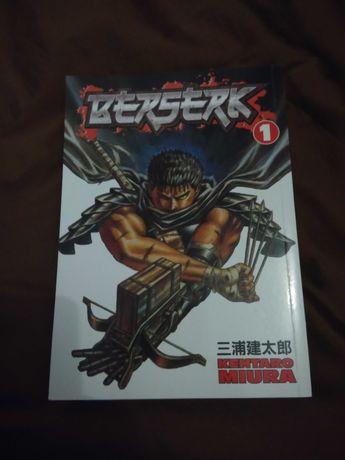 Mangá Berserk, Volume 1 (portes grátis)