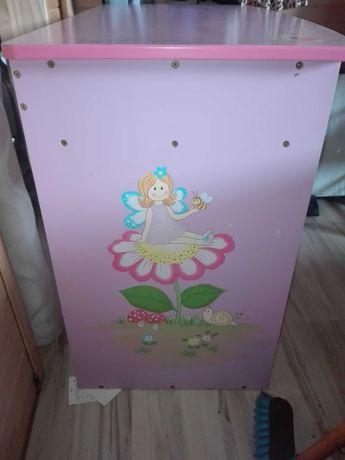 Biurko dla księżniczki ze stołkiem