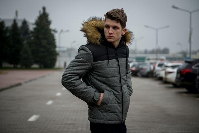 Мужская зимняя куртка Alaska (3 цвета) +перчатки в подарок S M L XLXXL