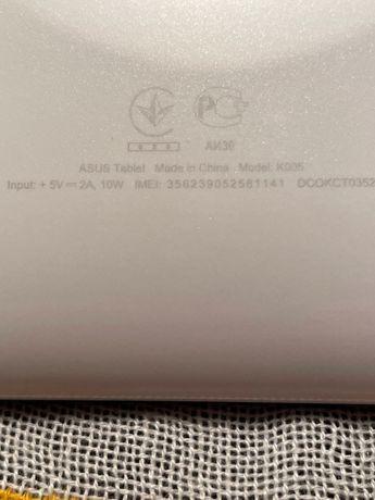 Планшеты ASUS Model: K001 и Model K005
