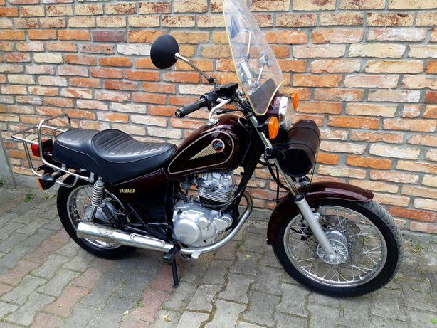 Yamaha SR 125 Kat B/A1 Szyba Piórnik Bagażnik ***Transport***
