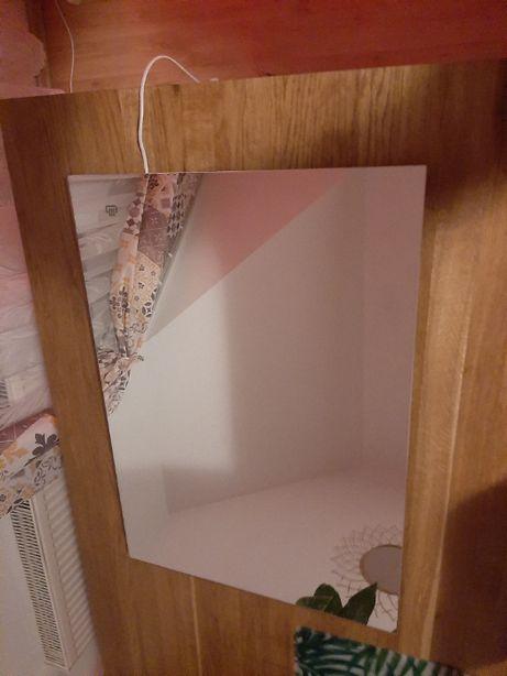 lustro łazienkowe 50x70 podgrzewane