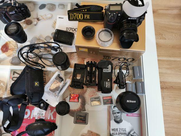 Nikon D700 zestaw.