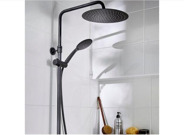 Kolumna prysznicowa Good Home z baterią termostatyczną i deszczownicą