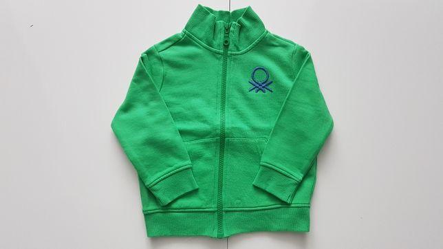 Bluza rozpinana Benetton rozmiar: 92  2 latka Stan: IDEALNY !!!
