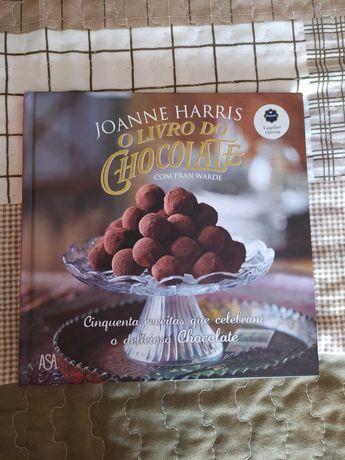O Livro do Chocolate de Joanne Harris [PORTES INCLUÍDOS]