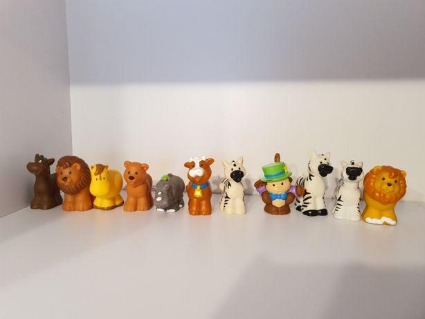 Figurka , figurki Fisher Price Little People Zwierzątka Zestaw 16 Szt
