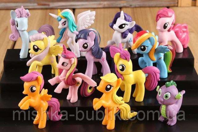 Набор фигурок Май Литл Пони ( my little pony ) Новые 12 штук !!!