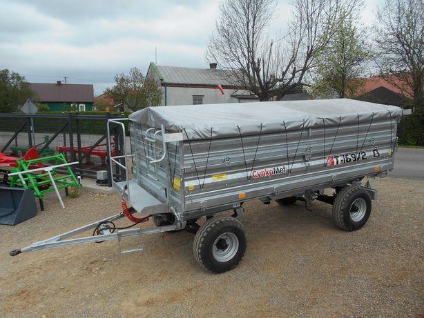 PRZYCZEPA 2-osiowa/Cynkomet /6 ton /homologacja /transport / prod 2021