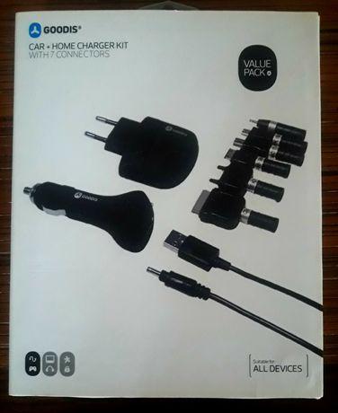 Kit de Carga USB da Goodis para Casa e Carro