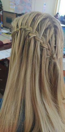 Прически плетение кос 100-200грн.