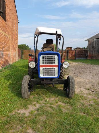 Traktorek SAM z przyczepą