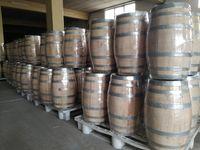 Barris e Pipos em madeira de castanho e carvalho
