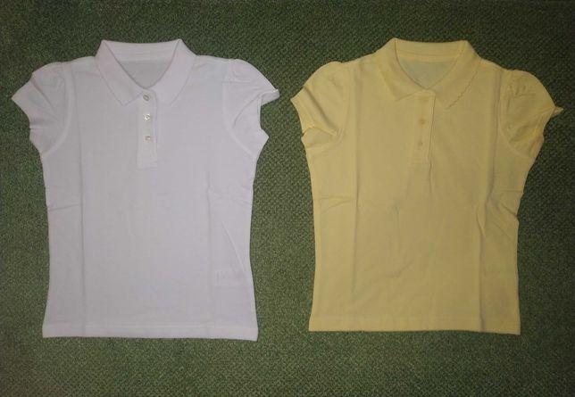 Продаю новые рубашки поло. От 6 до 7 лет.