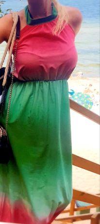 Sukienka cieniowana