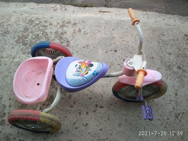 Продам детский велосипед бу