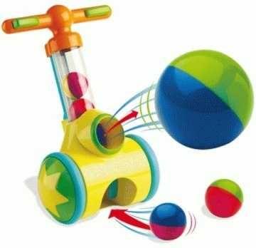 Игрушка каталка с шариками Tomy катапульта трещетка