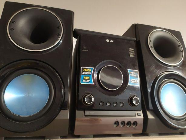Музыкальный центр LG караоке DVD USB HI-FI Домашний кинотеатр 150 ВТ