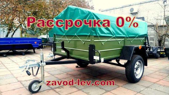 Легковой прицеп два метра ( Лев-20 от завода)