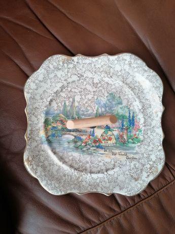 Prato em cerâmica inglesa