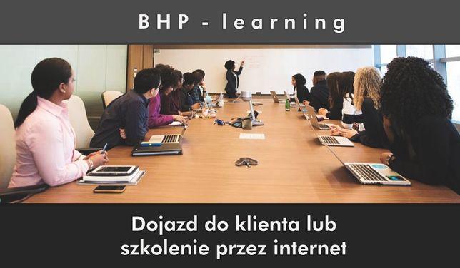 Szkolenia BHP u Klienta lub przez internet-100% SATYSFAKCJI - śląskie