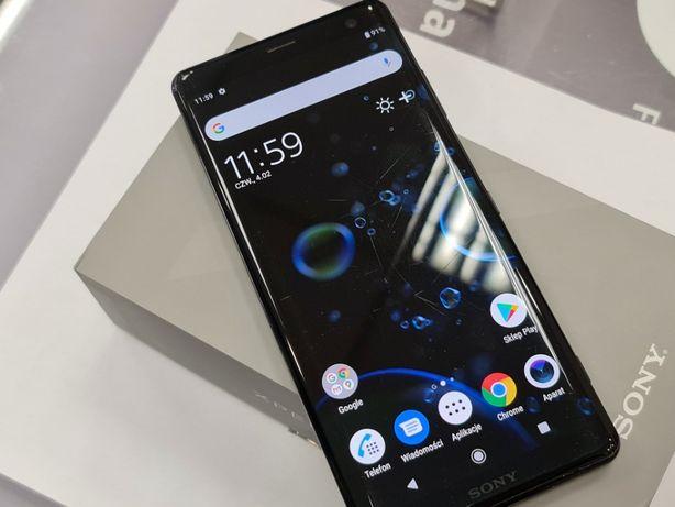 Sony Xperia XZ3/ 100% sprawny/ 1SIM/ Czarny/ Gwarancja