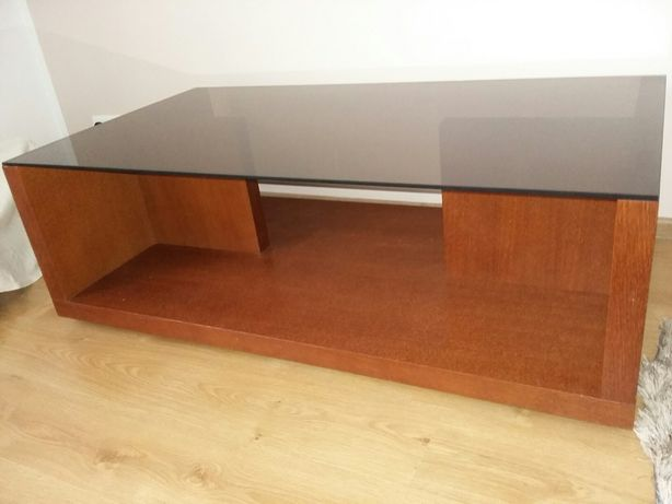 Duża ława stolik kawowy Cuba Paged Meble stół 130 x 70 cm