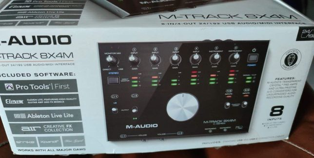 M audio m track 8x4m interfejs