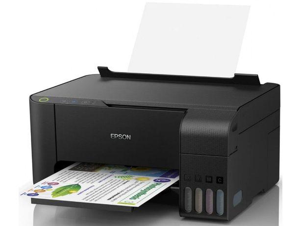 Принтер кольоровий МФУ БФП Epson L3151 Wi-Fi в наявності