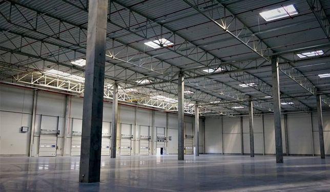 Nowoczesna hala o powierzchni 3500m2 wraz z częścią biurową 400m2.