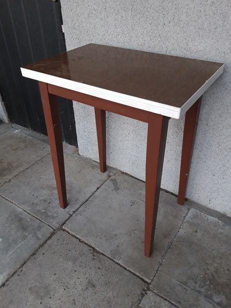 Stolik drewniany PRL