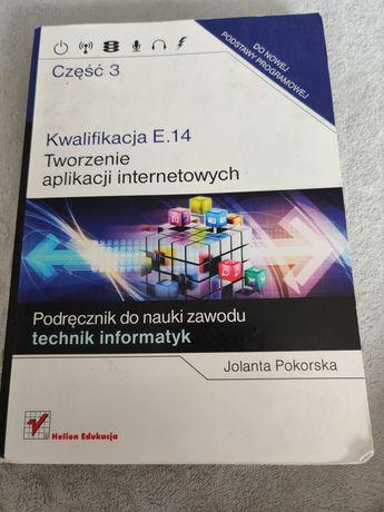 """Podręcznik """"Tworzenie aplikacji internetowych"""" E 14 część 3"""