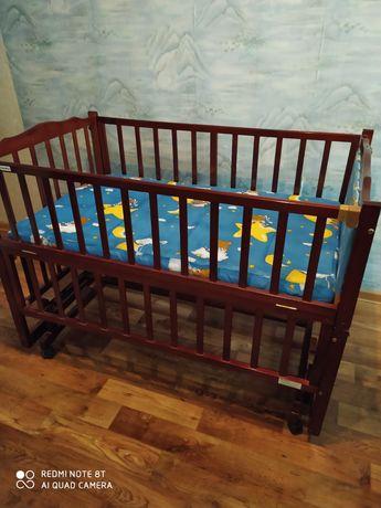 Детский манеж кроватка Geobi
