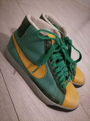 Nike zielono - pomarańczowe