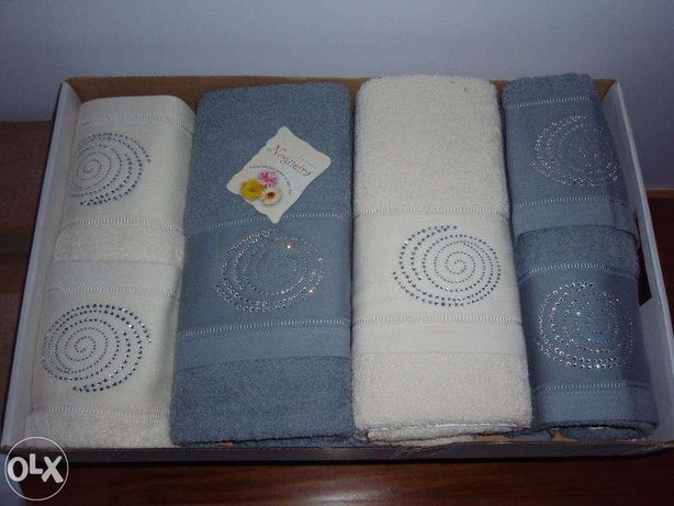 Varios jogos de Banho novos 100% algodão