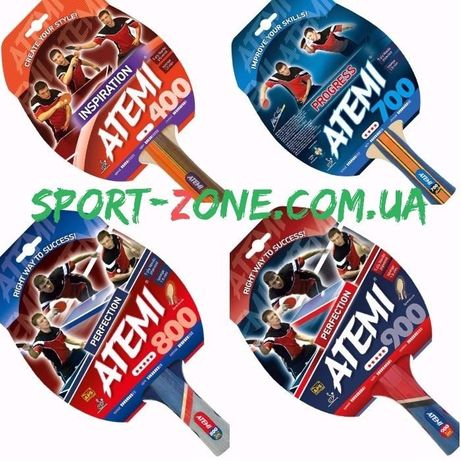 Ракетки для настольного тенниса ATEMI!
