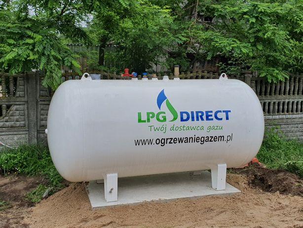 Zbiornik na gaz płynny propan, instalacja, butla, 2700/2750, 4850/5000