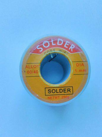 Припой Solder (вес 250 г, диаметр 1 мм)