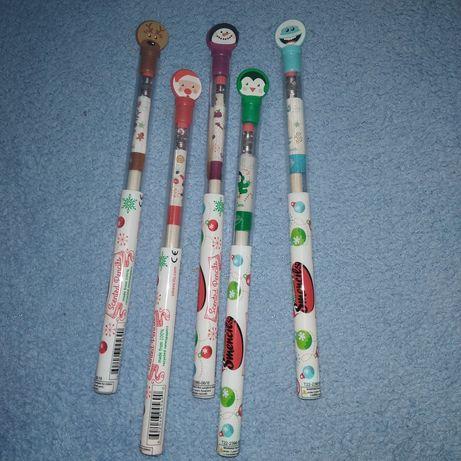 Новорічні різдвяні ароматні олівці на подарунок