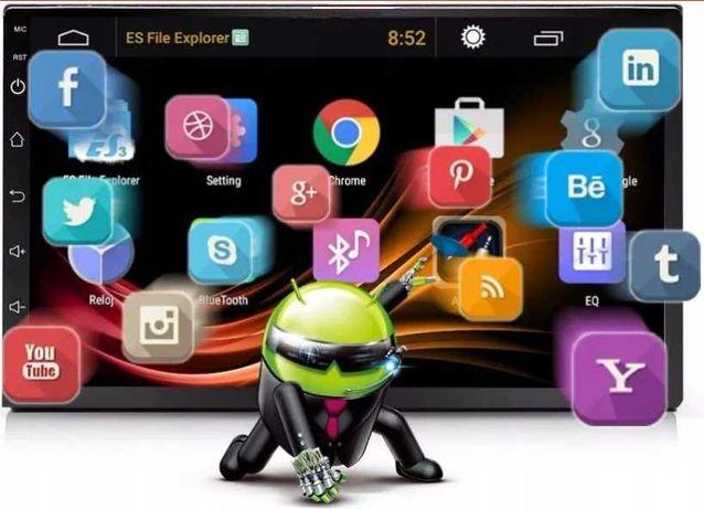 """NOWE radio samochodowe 7"""" GPS NAWIGACJA Android 9,1 WiFi 1/16GB ISO"""