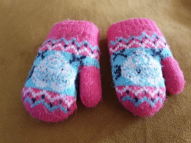 Grube rękawiczki niemowlęce