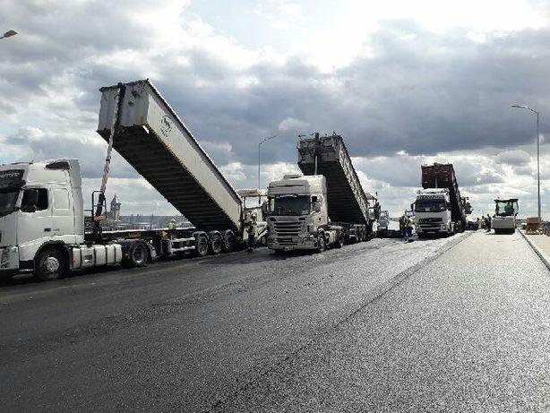 Usługi transportowe Transport wywrotki platforma Szczecin Gryfino