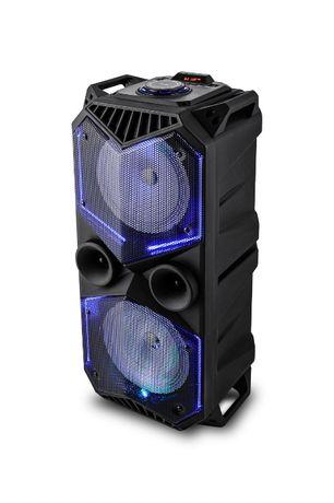 Głośnik przenośny VK 5100 Voice Kraft radio wieża 100W usb bluetooth
