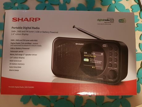 Cyfrowe Radio SHARP DR-P320  DAB+