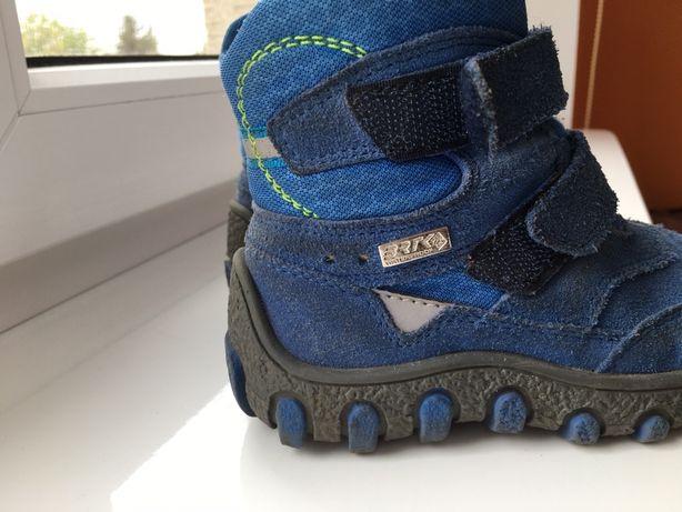 Kozaki buty zimowe Bartek 24 ocieplane kożuszkiem goretex